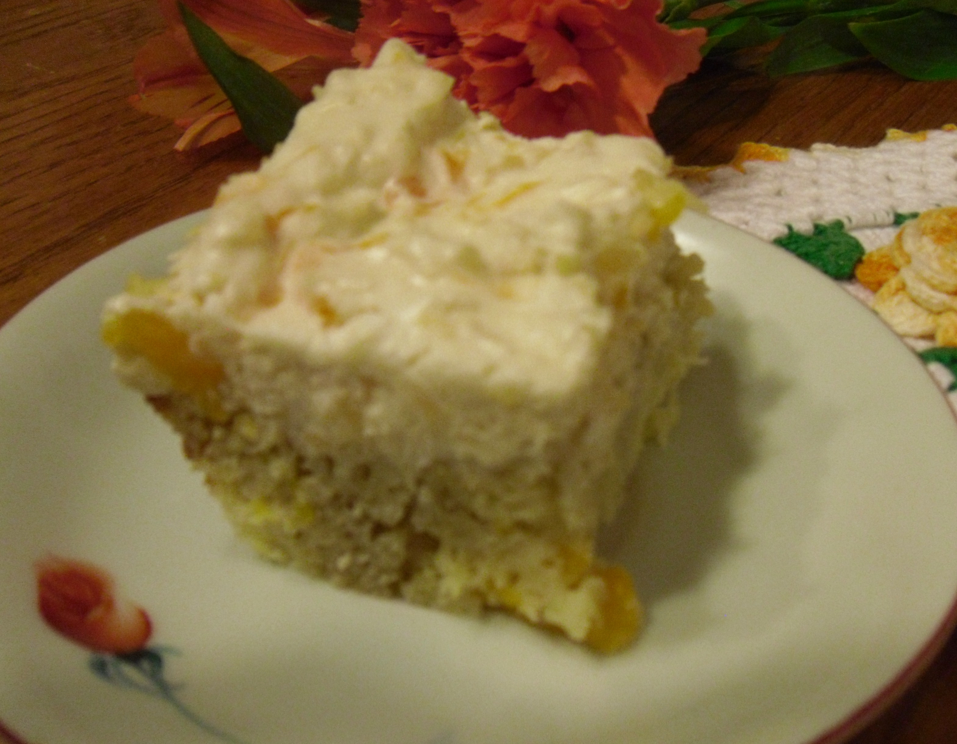 Pineapple Cake Recipe  pineapple cake cool whip frosting