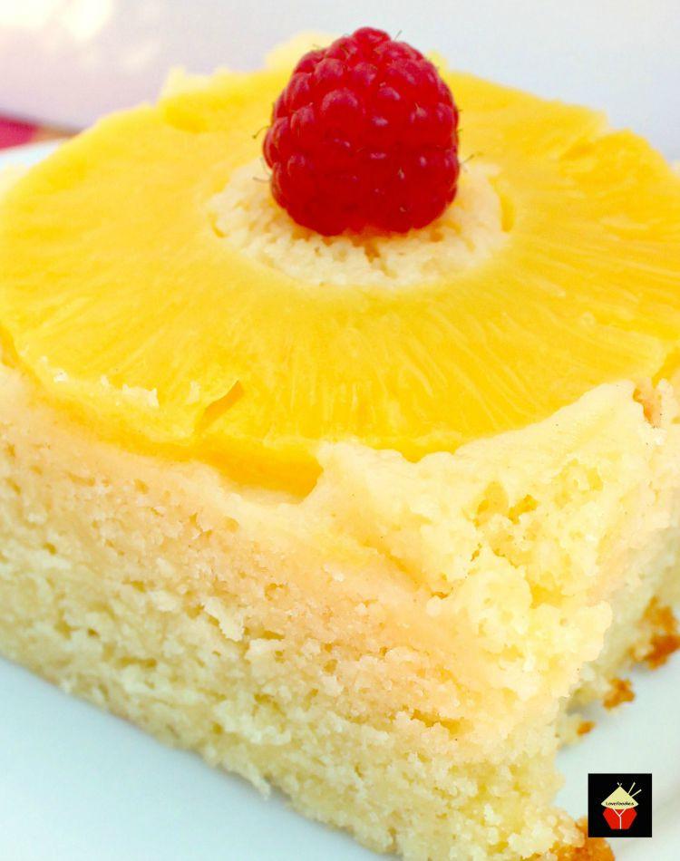Pineapple Cake Recipe  Easy Pineapple Upside Down Cake