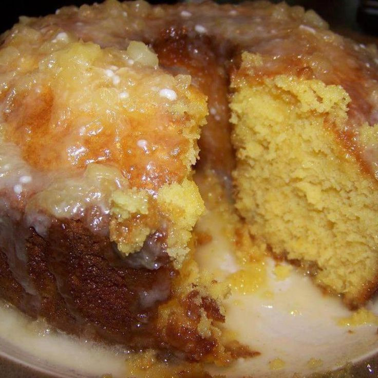 Pineapple Cake Recipe  crushed pineapple cake recipes