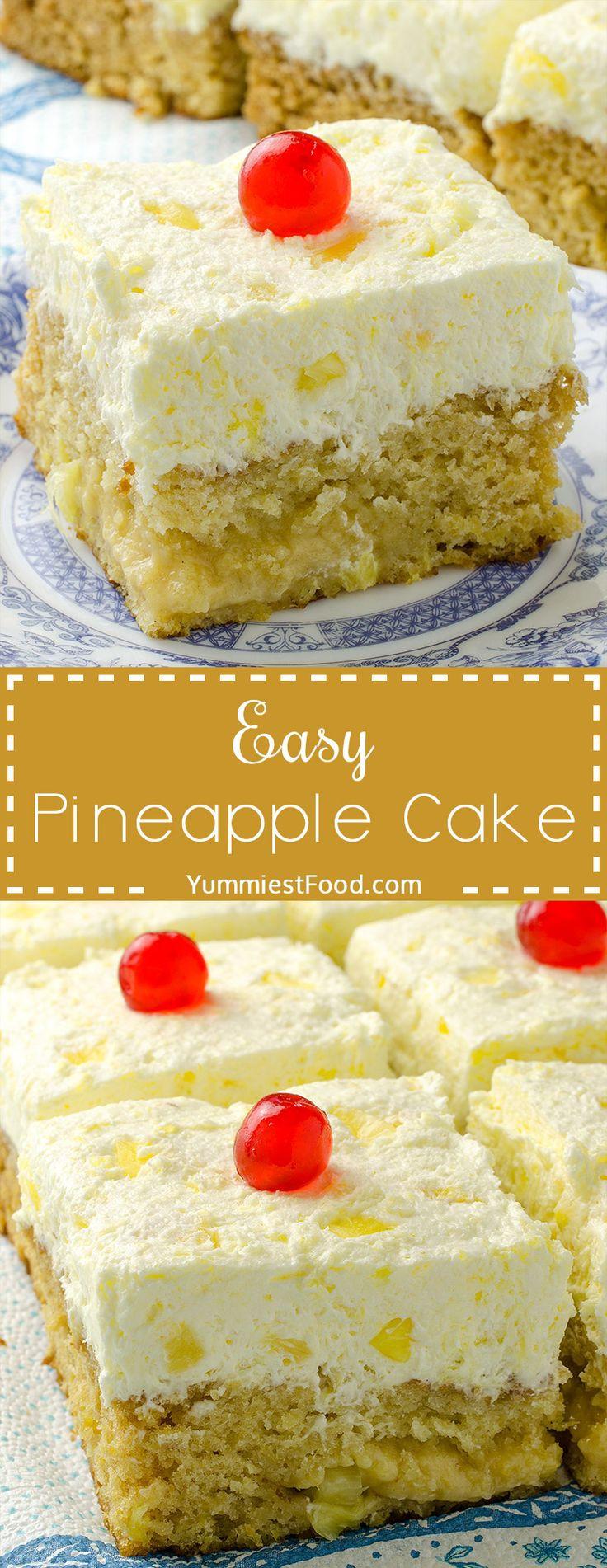 Pineapple Cake Recipe  The 25 best Diabetic birthday cakes ideas on Pinterest