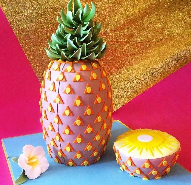Pineapple Shaped Cake  Meer dan 1000 afbeeldingen over Pineapple Addiction op