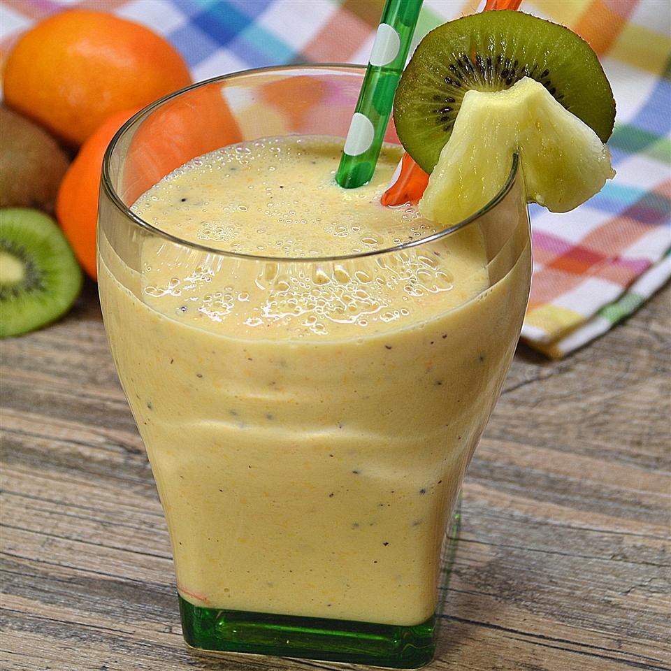 Pineapple Smoothie Recipes  Green tea pineapple smoothie recipe All recipes UK