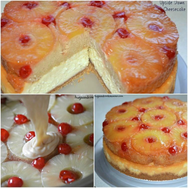 Pineapple Upside Down Cake Recipes  Pineapple Upside Down Cheesecake