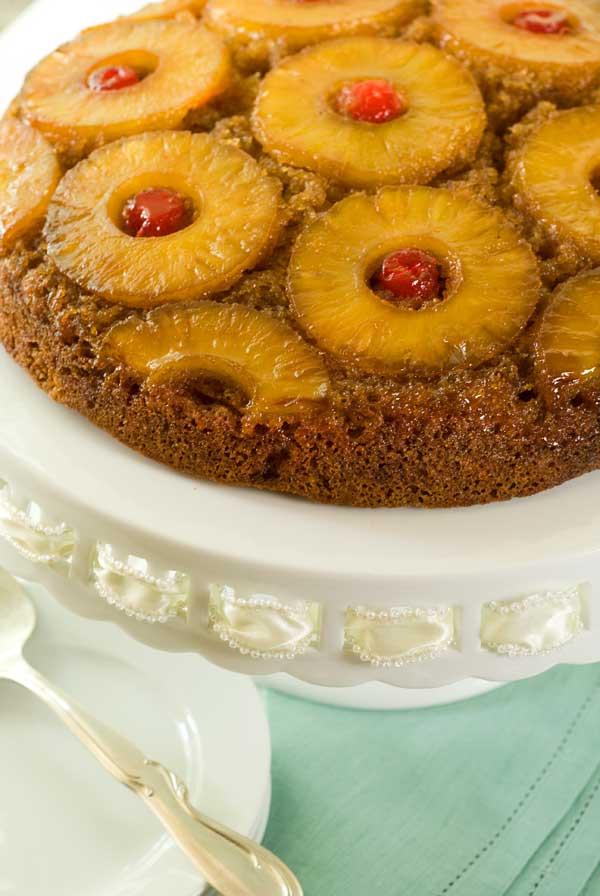 Pineapple Upside Down Cake Recipes  Gluten Free Pineapple Upside Down Cake Recipe