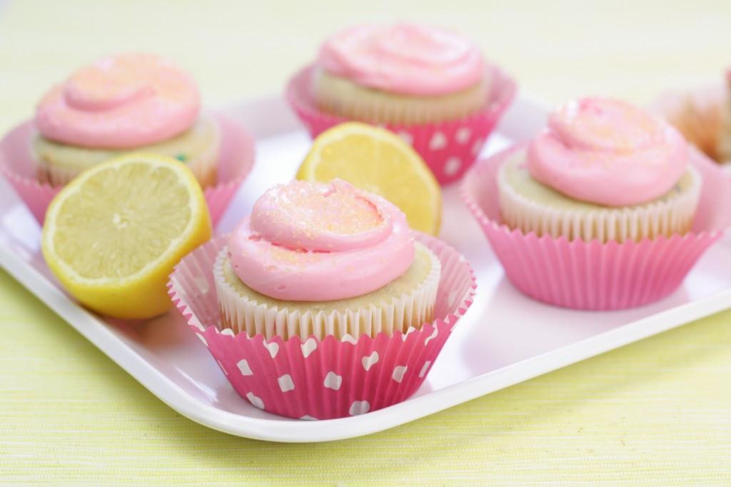 Pink Lemonade Cupcakes  Pink Lemonade Cupcakes