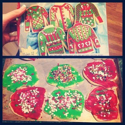 Pinterest Christmas Cookies  13 Pinterest Fails Christmas Cookie Edition PHOTOS