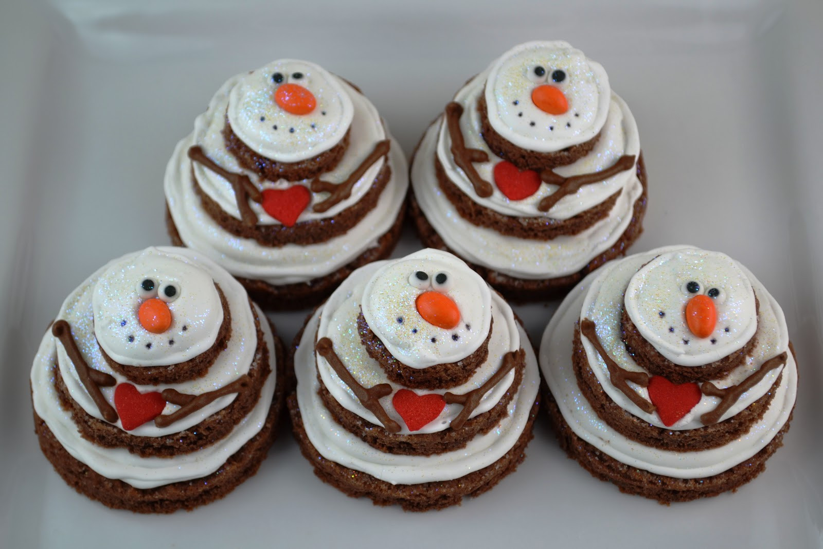 Pinterest Christmas Cookies  Sweetology Lumpy Bumpy Stacked Snowmen Cookies A