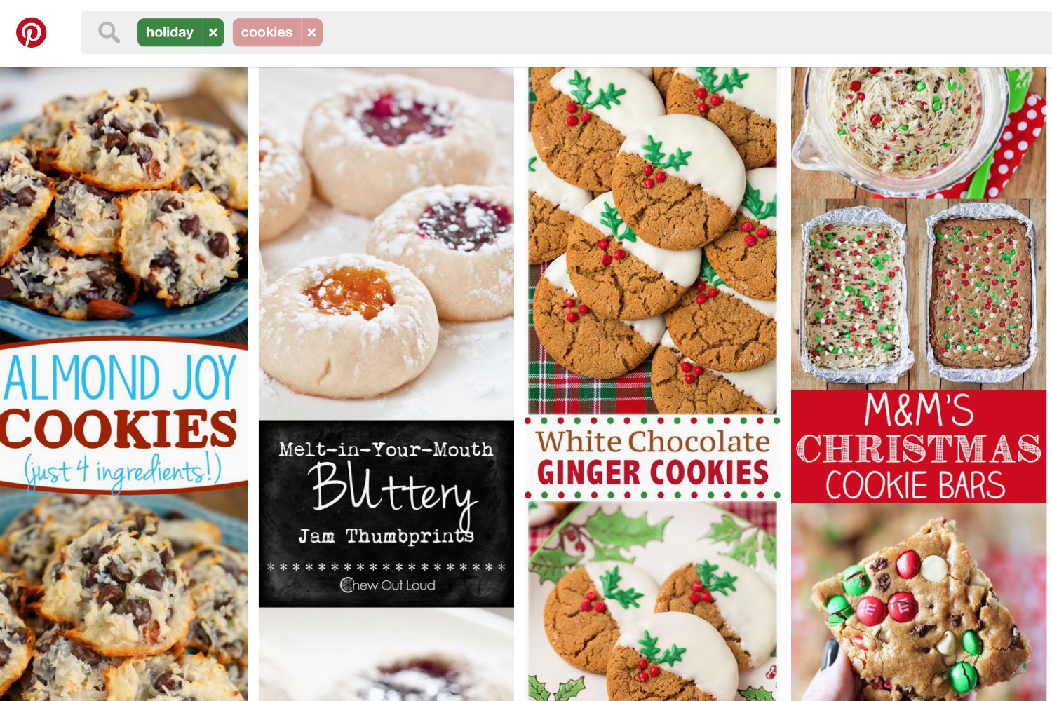 Pinterest Christmas Cookies  What is Pinterest's most popular Christmas cookie recipe