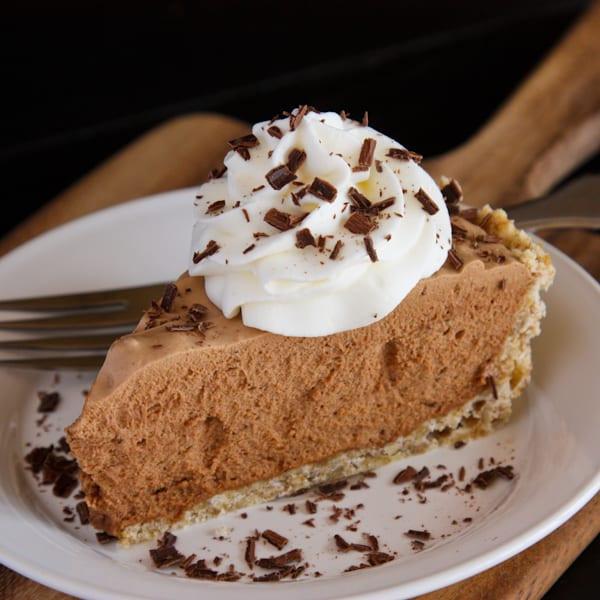 Pioneer Woman Chocolate Pie  french silk pie pioneer woman