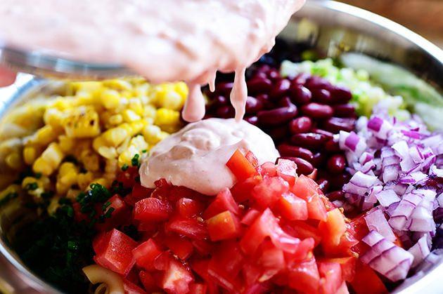 Pioneer Woman Macaroni Salad  Mexican Macaroni Salad