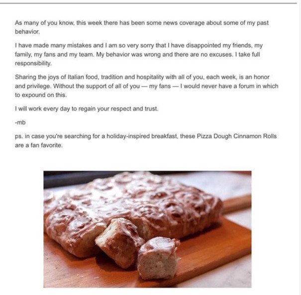 Pizza Dough Cinnamon Rolls  Mario Batali Apologizes With Pizza Dough Cinnamon Rolls Recipe