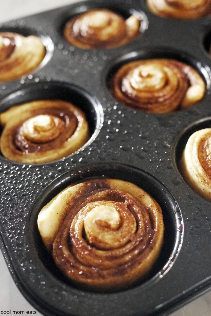 Pizza Dough Cinnamon Rolls  Busy parent kitchen hack Shortcut Pizza Dough Cinnamon