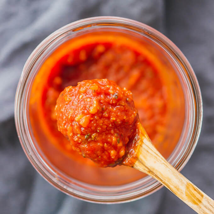 Pizza Sauce From Tomato Paste  Easy homemade pizza sauce savory tooth