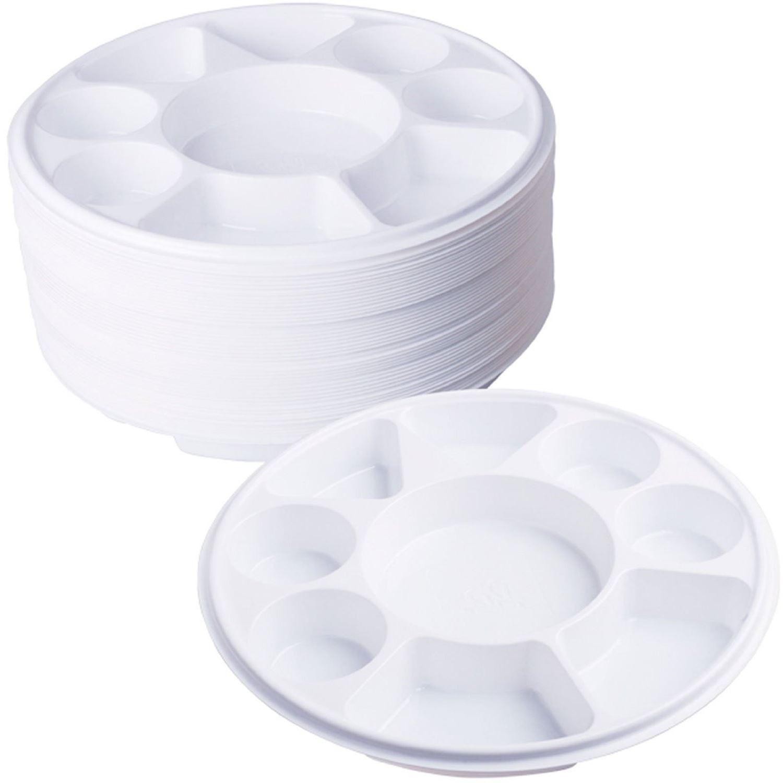 Plastic Dinner Plates  partment Plastic Dinner Plates 50 pcs Party Home Food