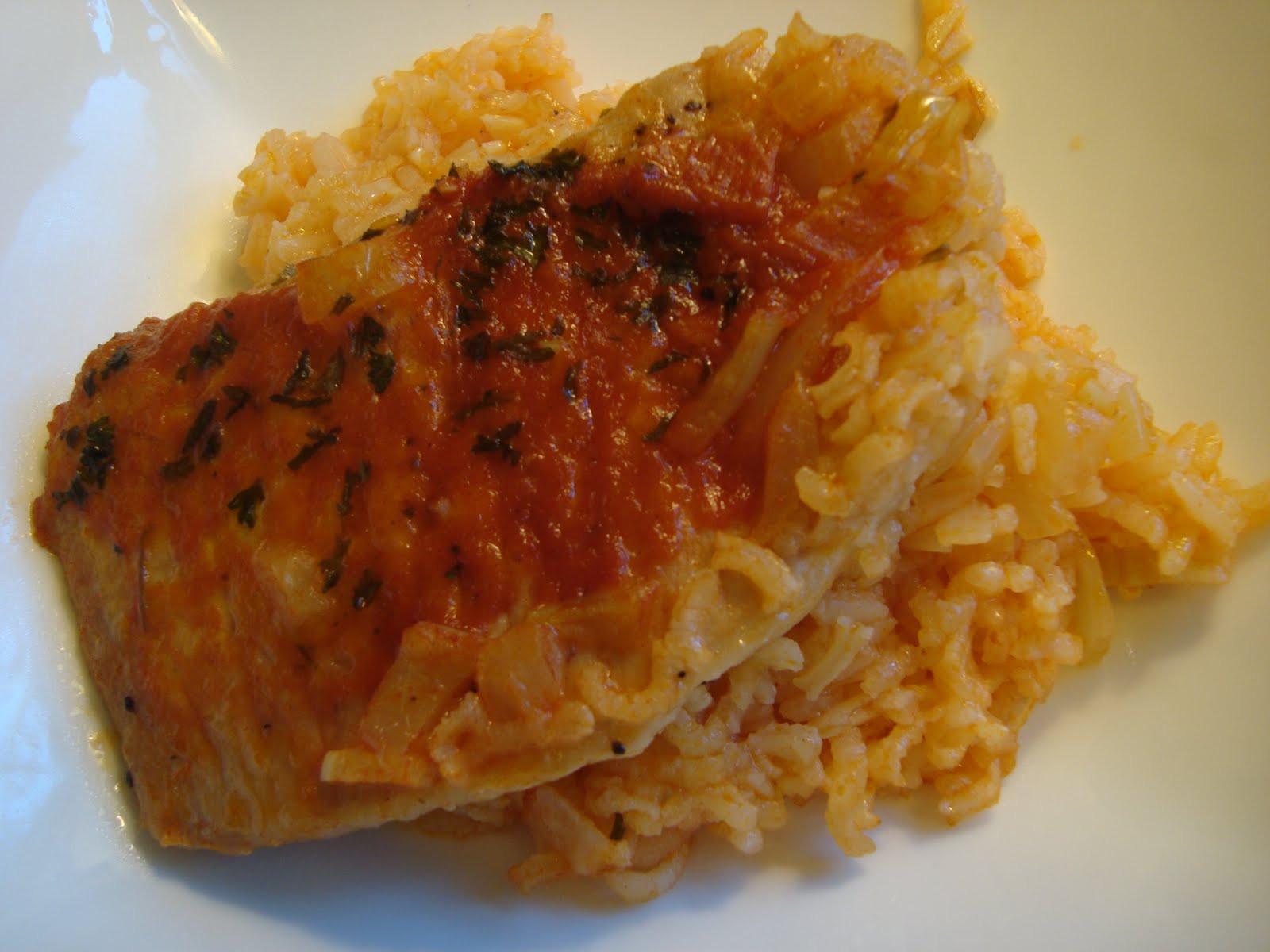Pork Chop And Rice Casserole  f the Wheaten Path Gluten Free Pork Chop and Rice Casserole