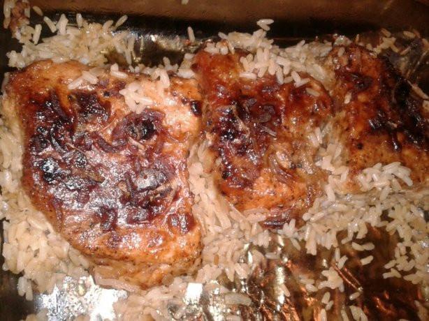 Pork Chop And Rice Casserole  Pork Chop Rice Casserole Recipe Food