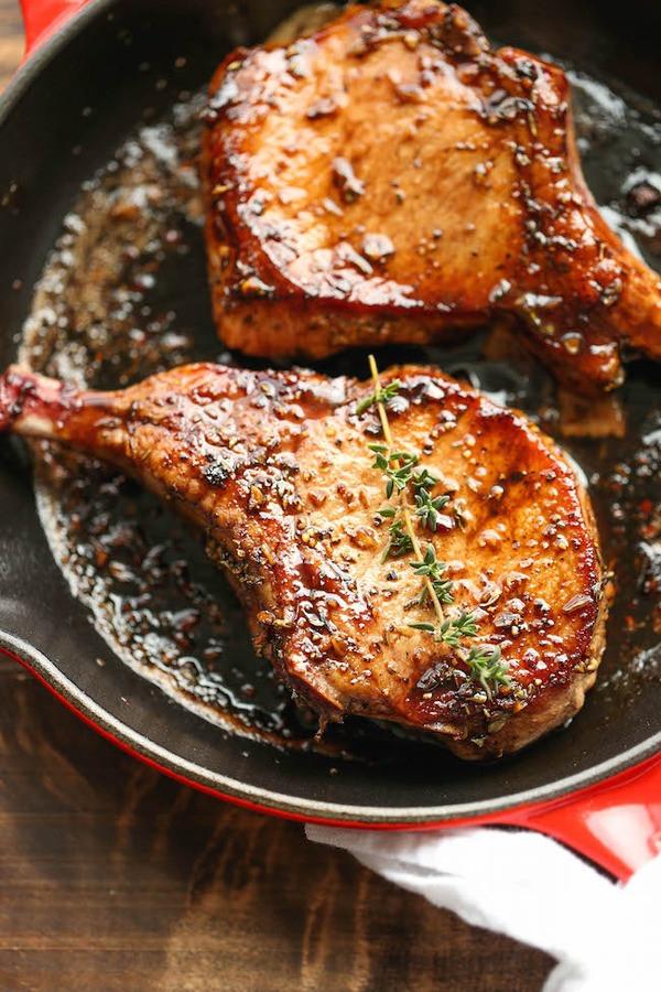 Pork Chop Dinner  20 Lazy Dinner Recipes for Weight Loss