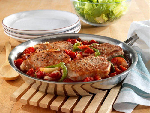 Pork Chop Dinner  Skillet Pork Chop Dinner