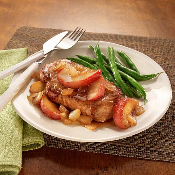 Pork Chops And Apples  Maple Apple Pork Chops Recipe