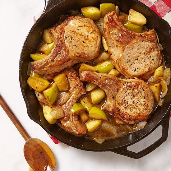 Pork Chops And Apples  Quick & Tasty Weeknight Meal Planner