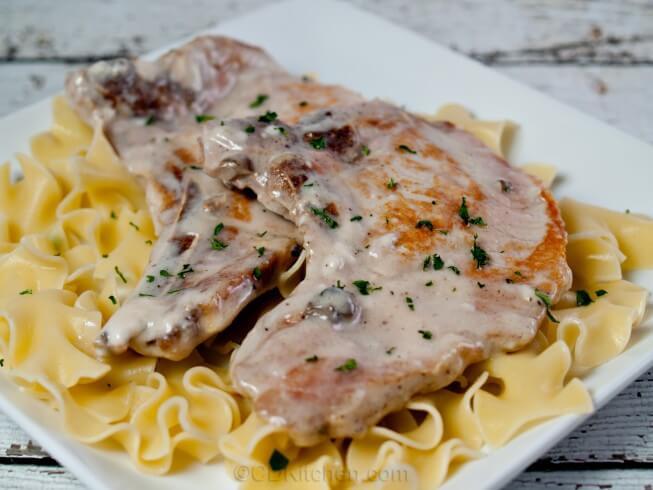 Pork Chops In Mushroom Soup  Crock Pot Pork Chops In Cream Mushroom Soup Recipe from