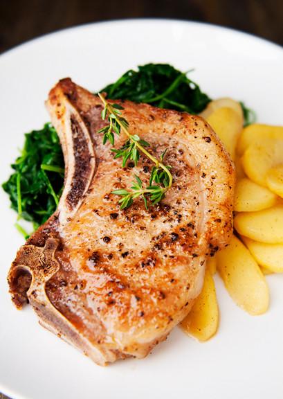 Pork Chops Sous Vide  Sous Vide Pork Chops Recipe — Dishmaps