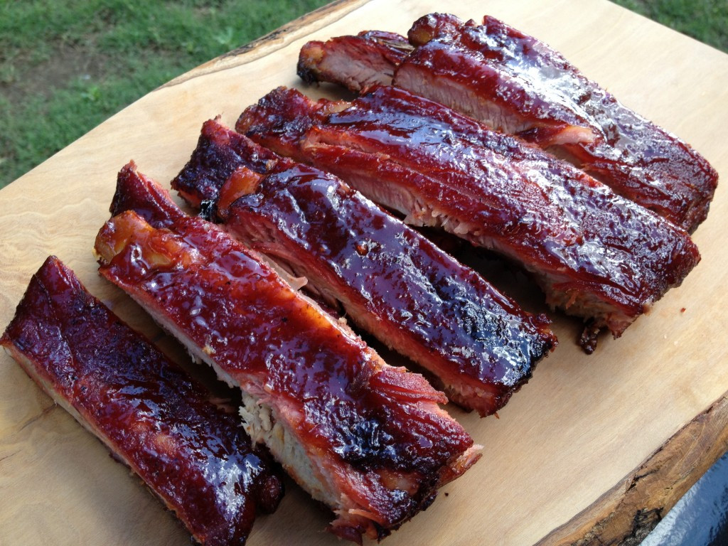 Pork Spare Ribs Recipe  St Louis Spare Ribs Recipe smoked low and slow