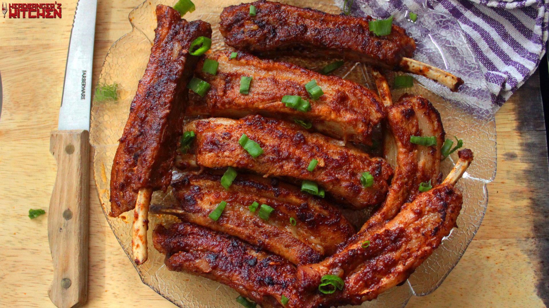 Pork Spare Ribs Recipe  Keto BBQ Pork Spare Ribs Headbanger s Kitchen Keto All