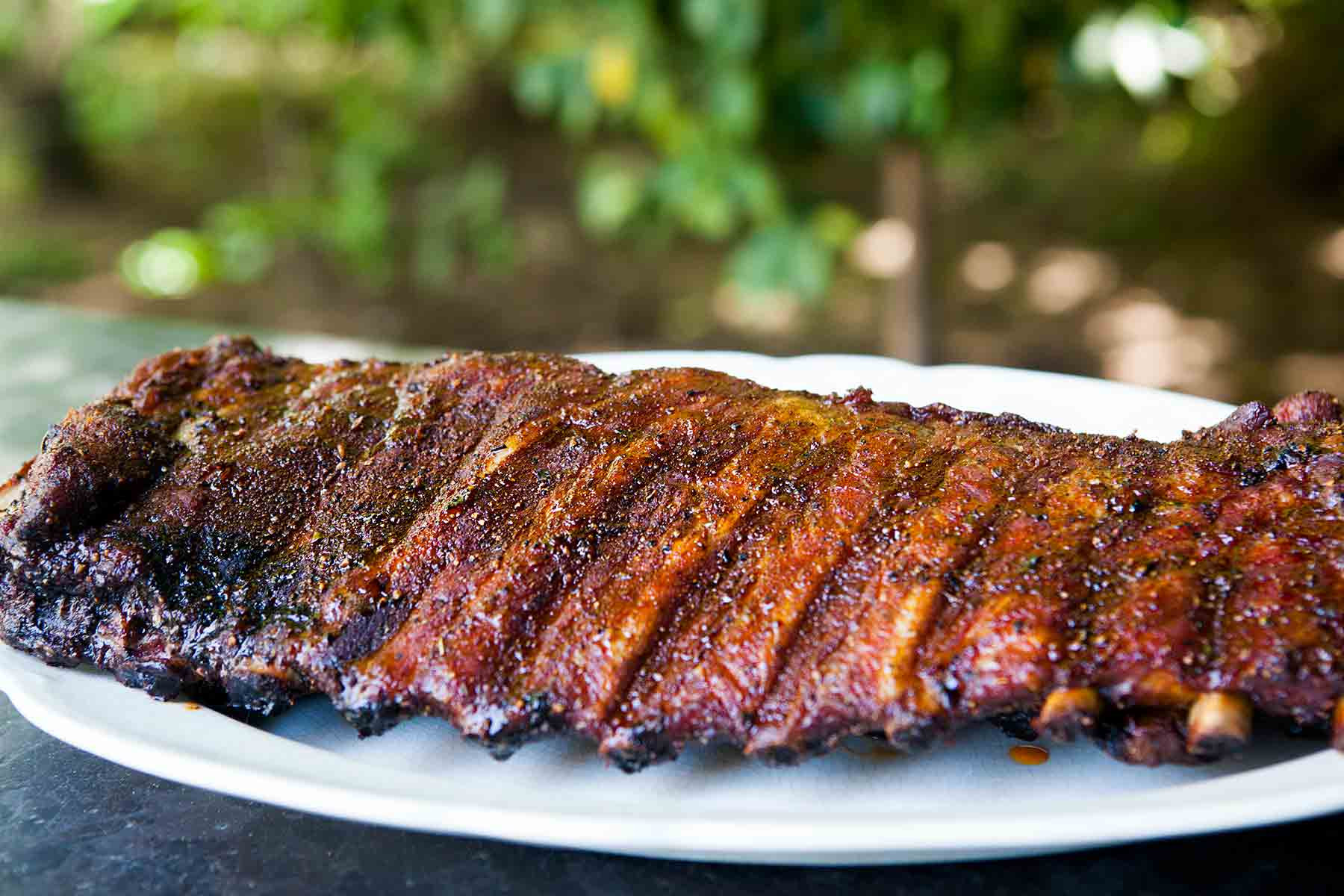 Pork Spare Ribs Recipe  Memphis Style Pork Ribs Recipe