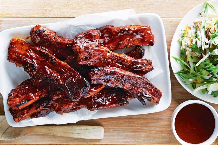 Pork Spare Ribs Recipe  Twice cooked pork spare ribs