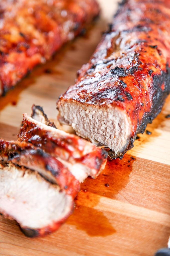 Pork Tenderloin Cooking Temp  Grilled BBQ Pork Tenderloin Recipe Baking Beauty