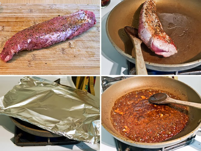 Pork Tenderloin Cooking Temp  Cooking Weekends Savory Pan Fried Pork Tenderloin