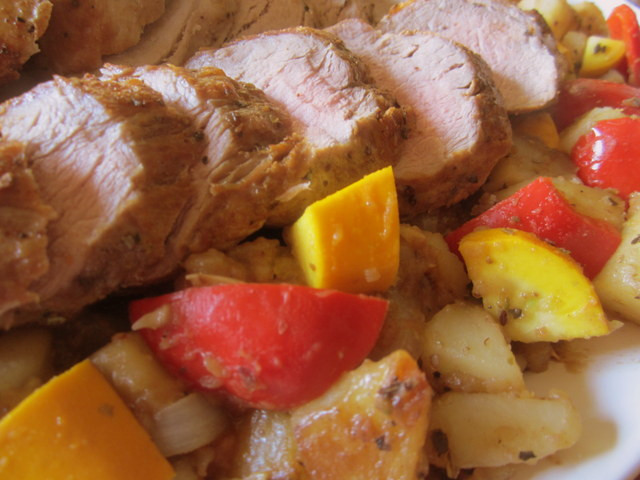 Pork Tenderloin Dinner  Mennonite Girls Can Cook Greek Style Pork Tenderloin Dinner