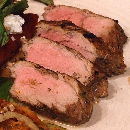 Pork Tenderloin On The Grill  Balsamic Rosemary Grilled Pork Tenderloin