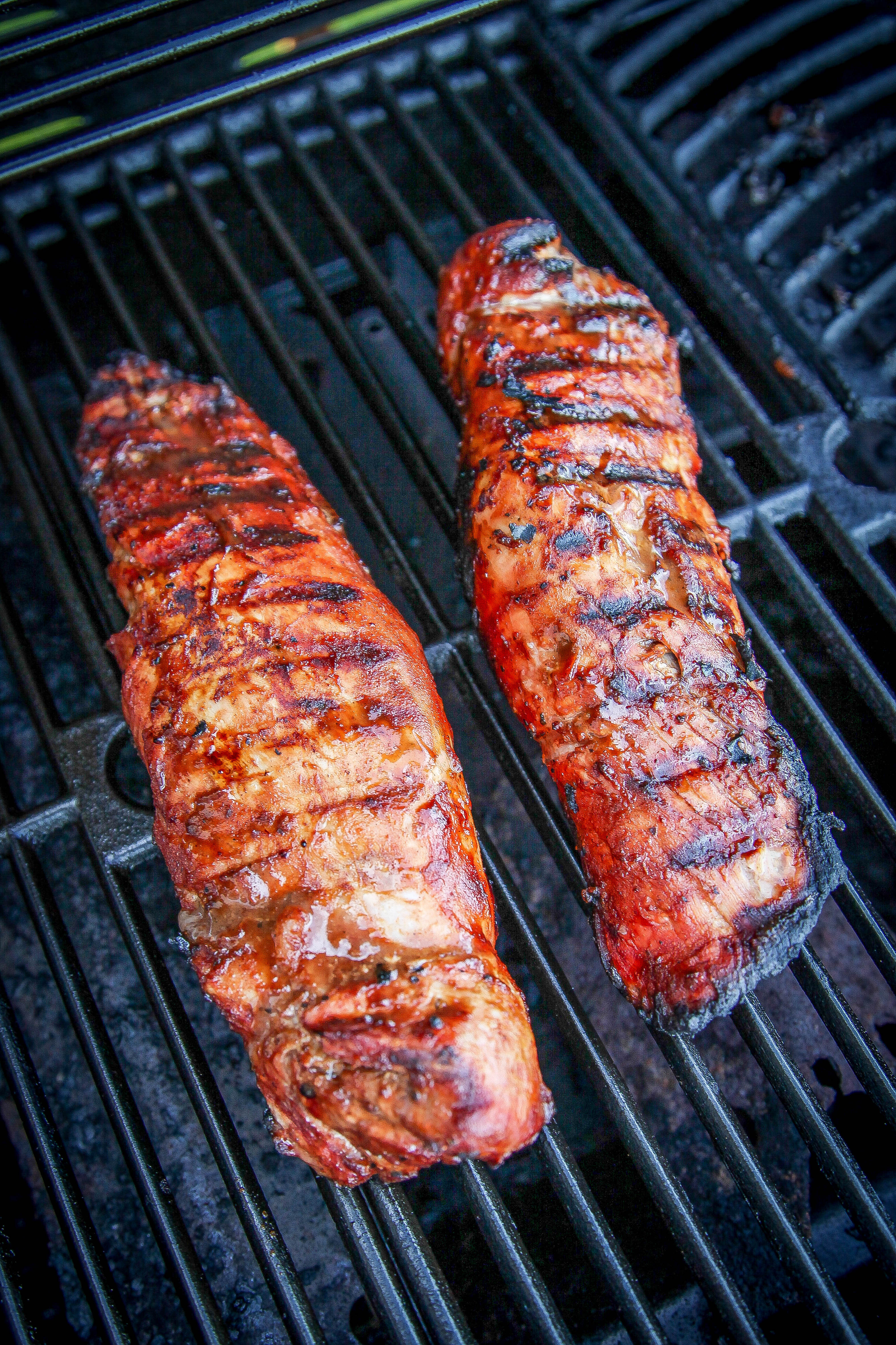 Pork Tenderloin On The Grill  Grilled BBQ Pork Tenderloin Recipe Baking Beauty