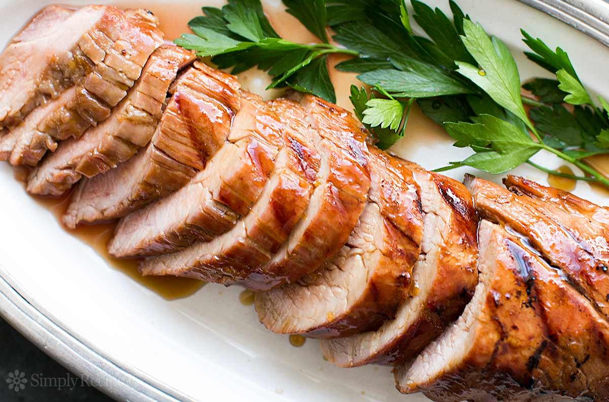 Pork Tenderloin On The Grill  Grilled Pork Tenderloin with Orange Marmalade Glaze Recipe