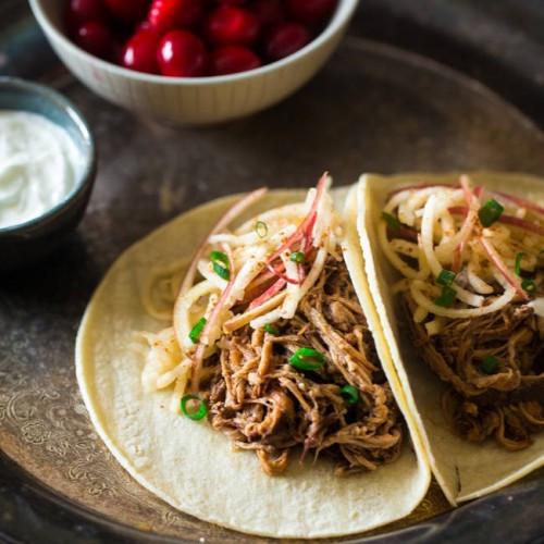 Pork Tenderloin Tacos  Chipotle Slow Cooker Pork Tenderloin Tacos Get Healthy U