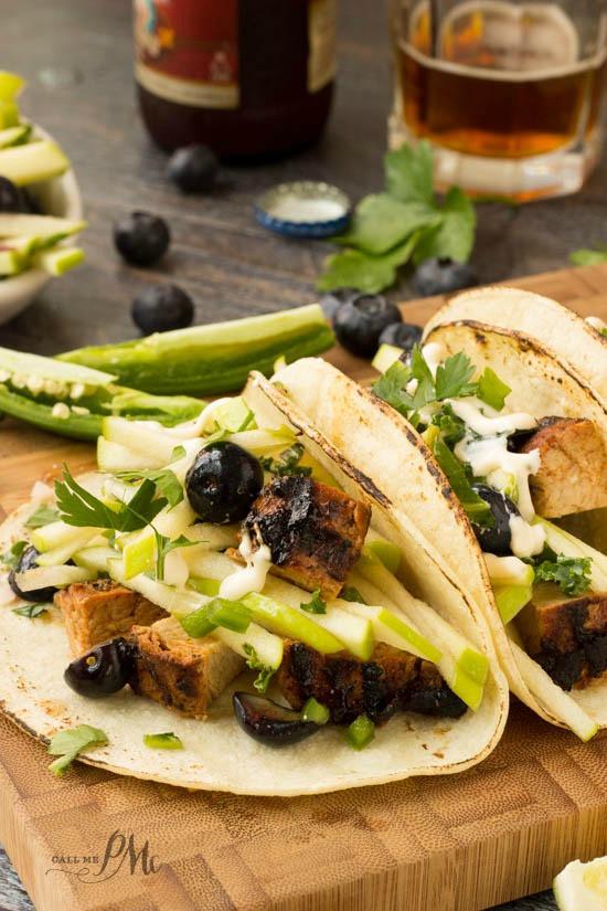 Pork Tenderloin Tacos  pork tenderloin tacos