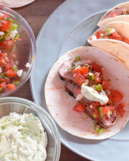 Pork Tenderloin Tacos  Pork Tenderloin Tacos Melissa Cookston