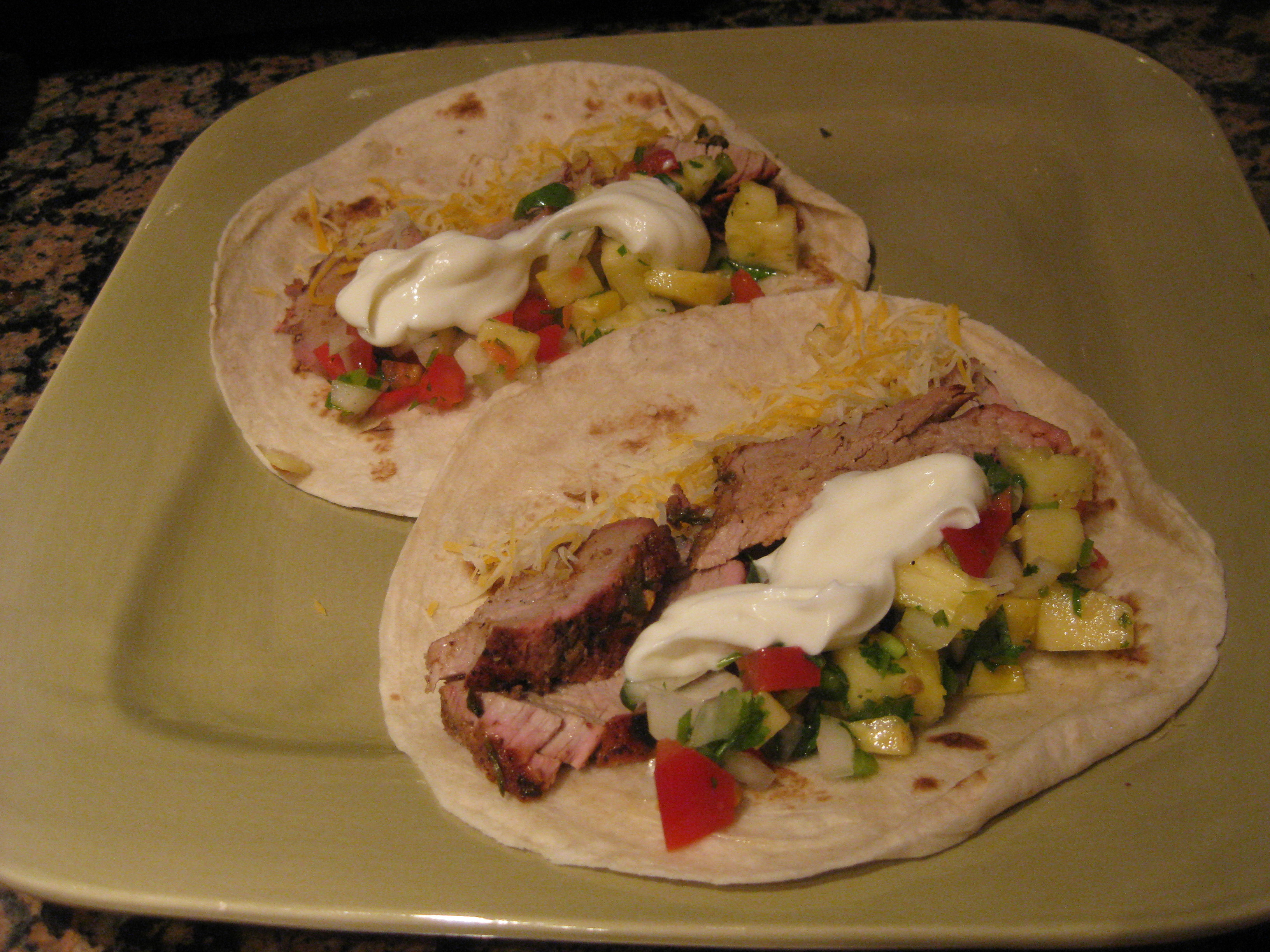 Pork Tenderloin Tacos  Grilled Pork Tenderloin Tacos