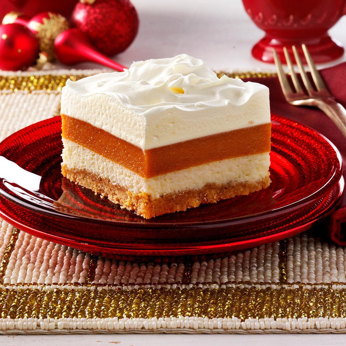 Pot Luck Desserts  Potluck Pumpkin Torte Recipe