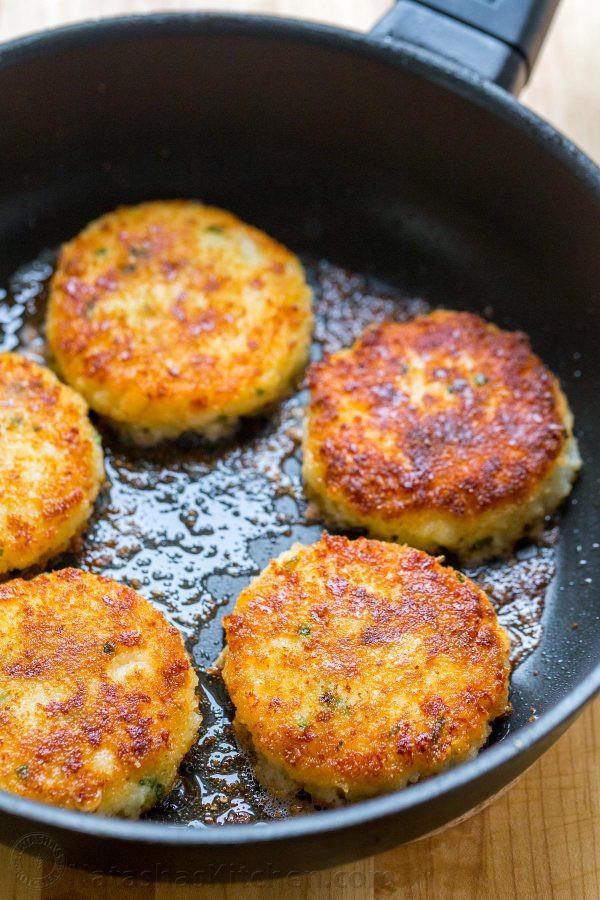 Potato Pattie Recipes  fried potato cakes