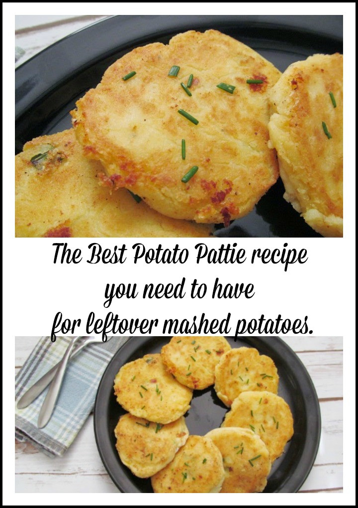 Potato Pattie Recipes  The best Potato Patty recipe you need to have