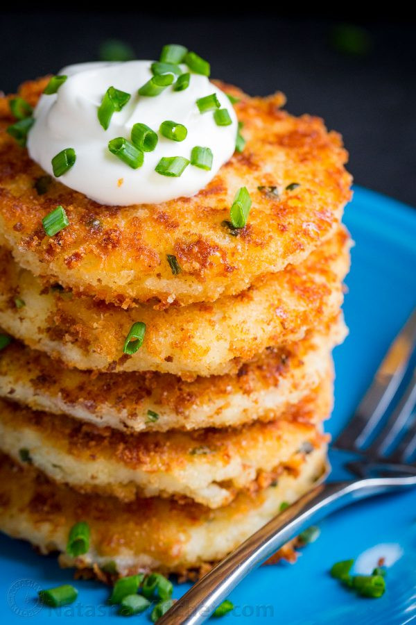 Potato Pattie Recipes  cheesy potato cakes recipe