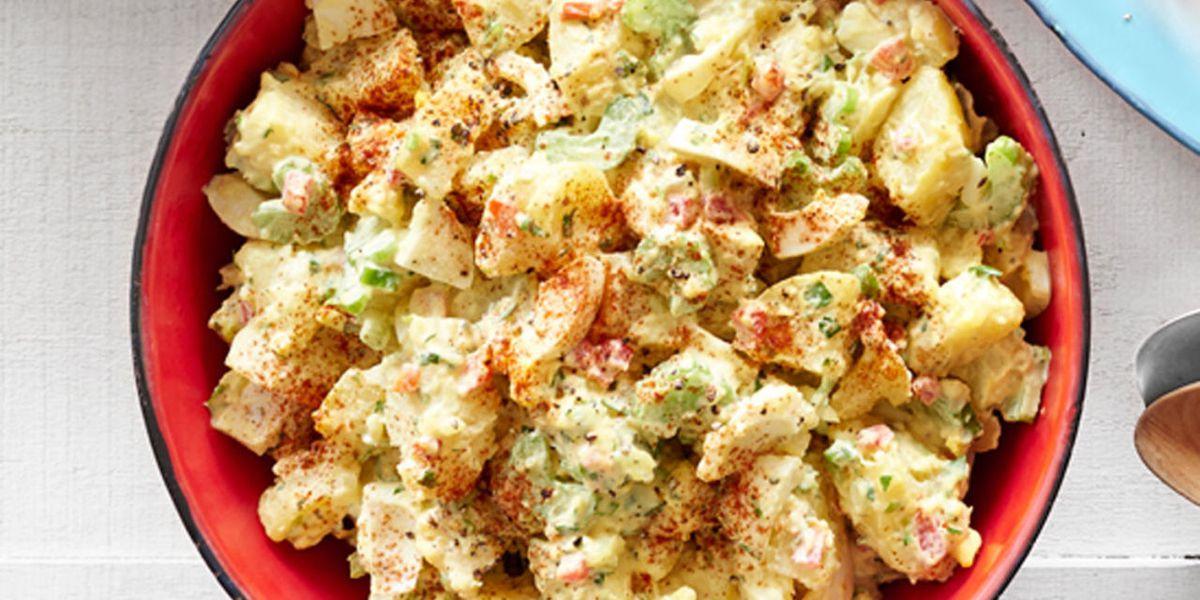 Potato Salad With Eggs  Deviled Egg Potato Salad