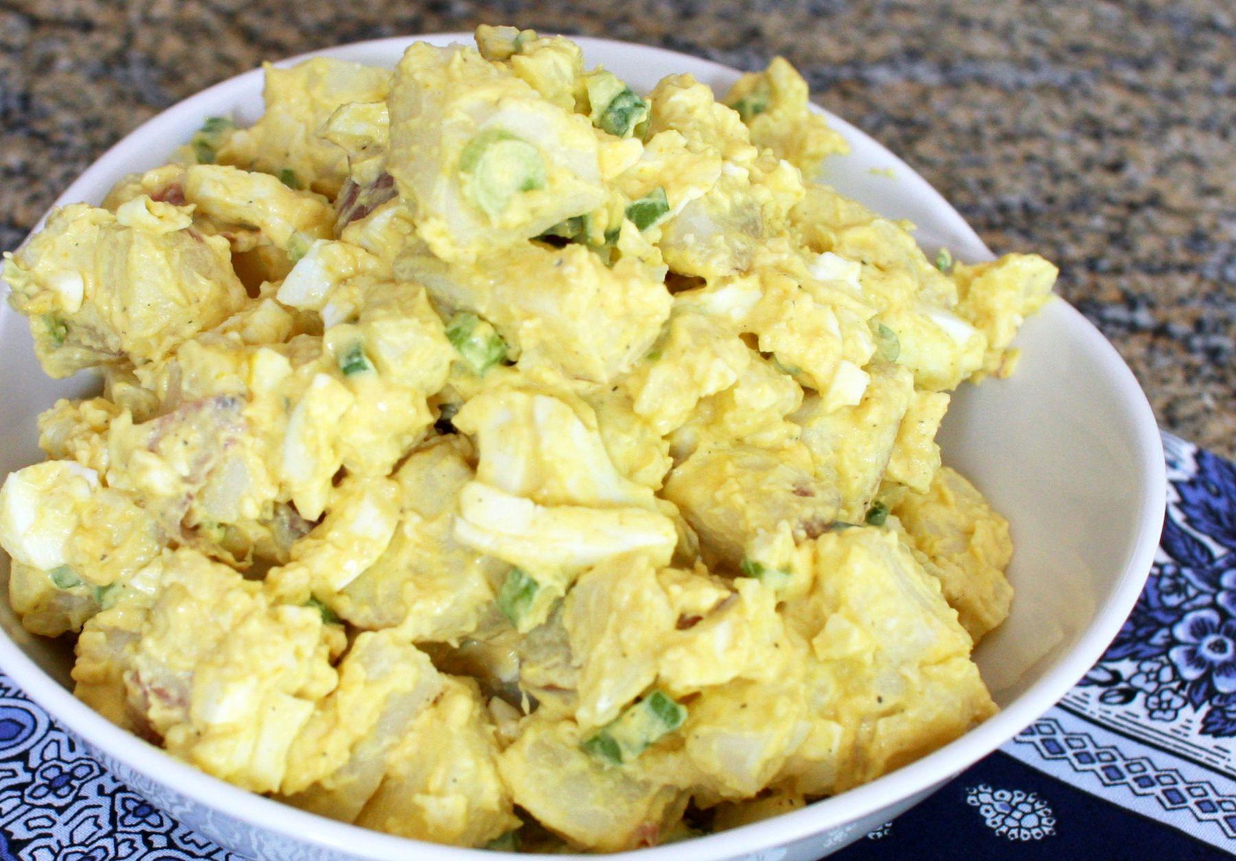 Potato Salad With Eggs  Classic Picnic Potato Salad Recipe