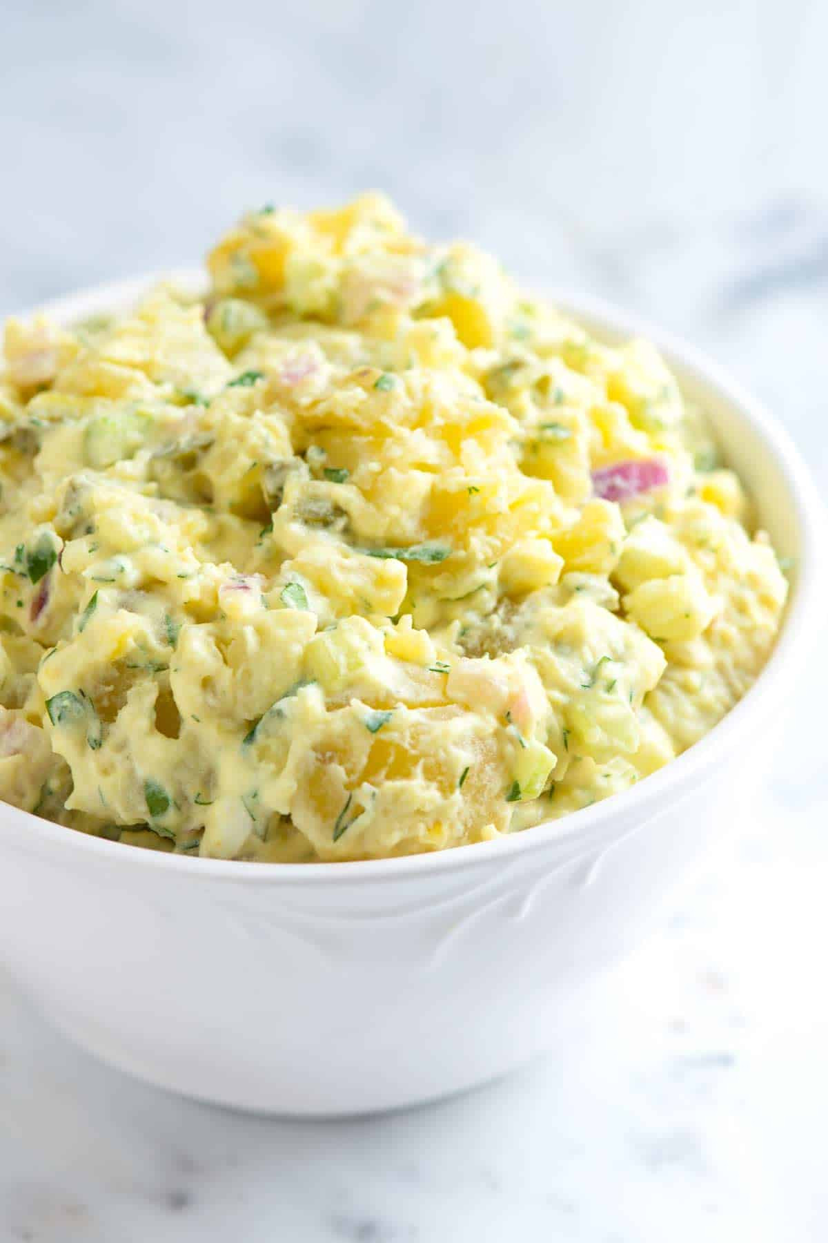 Potato Salad With Eggs  Easy Potato Salad Recipe with Tips