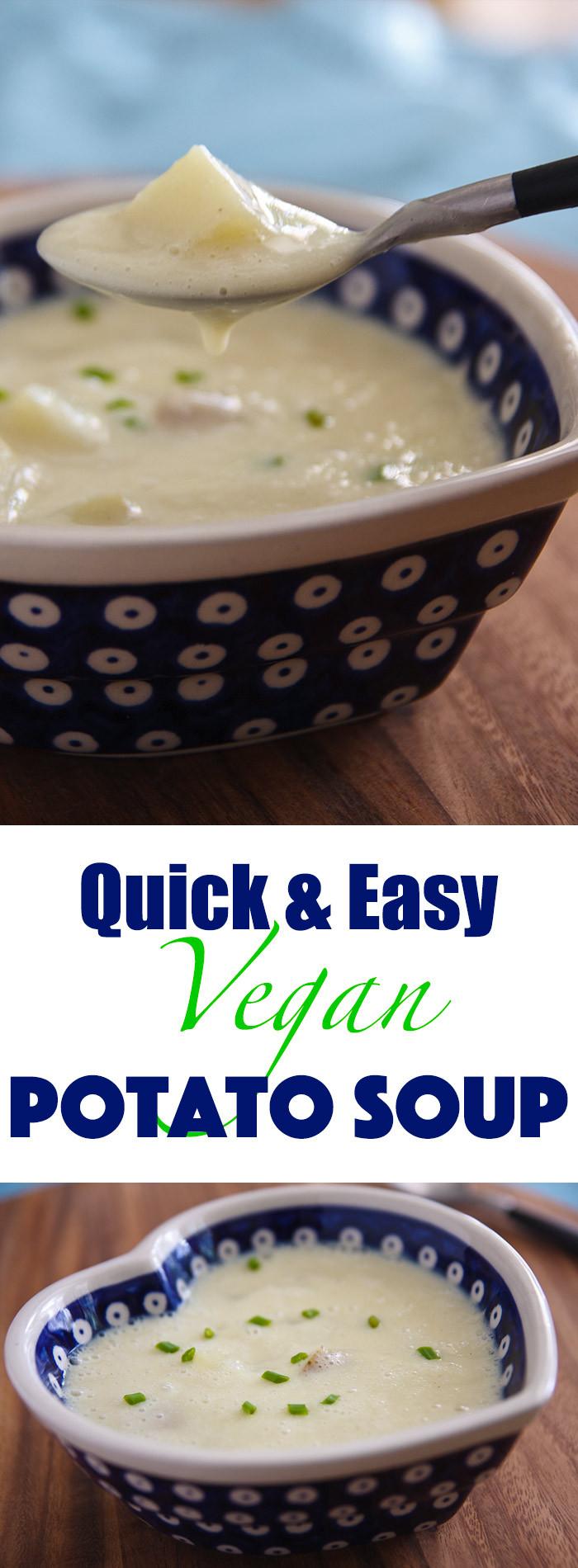 Potato Soup Recipe Easy  Quick and Easy Potato Soup