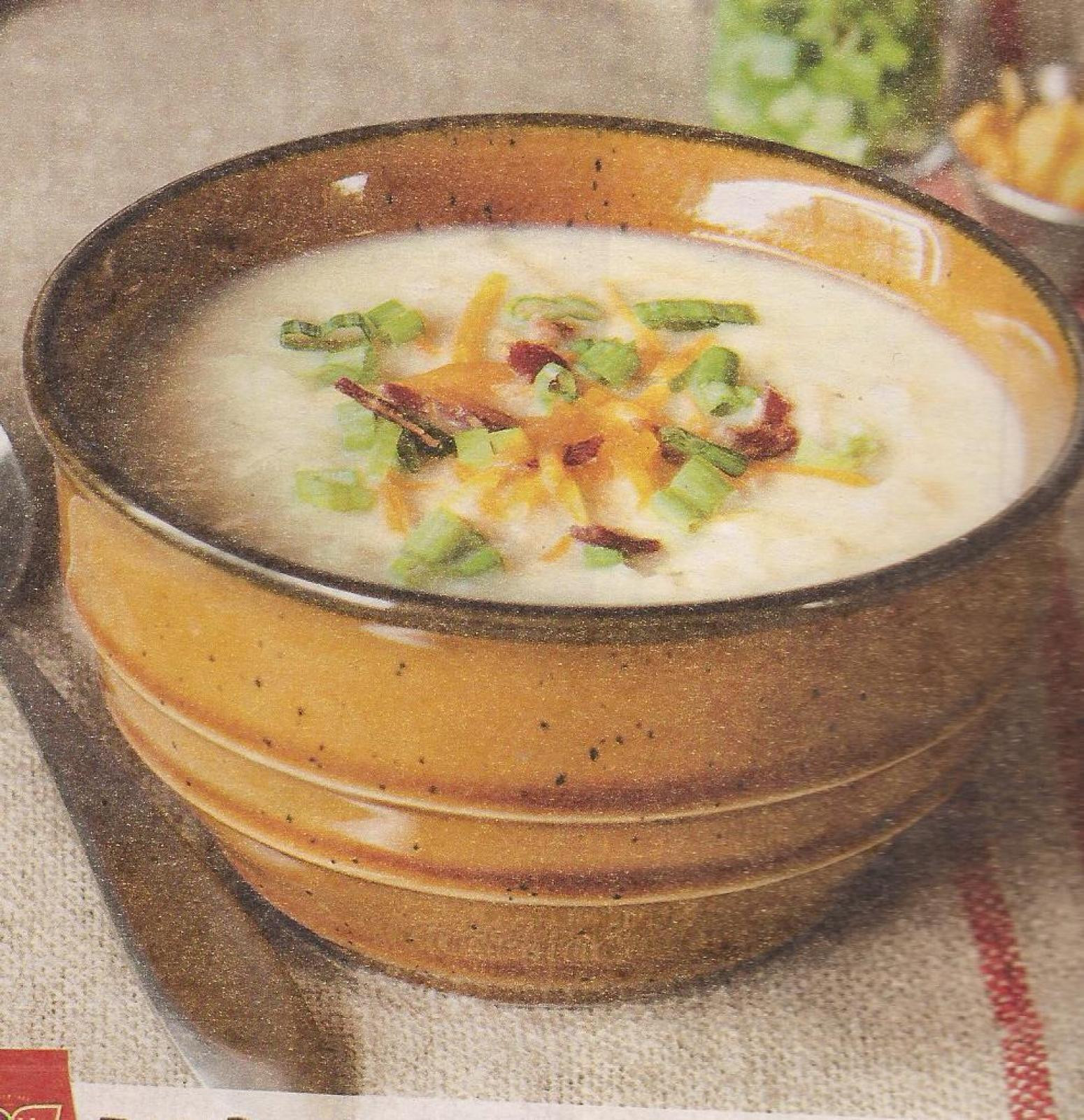 Potato Soup With Hash Browns  Hash Brown Potato Soup Recipe