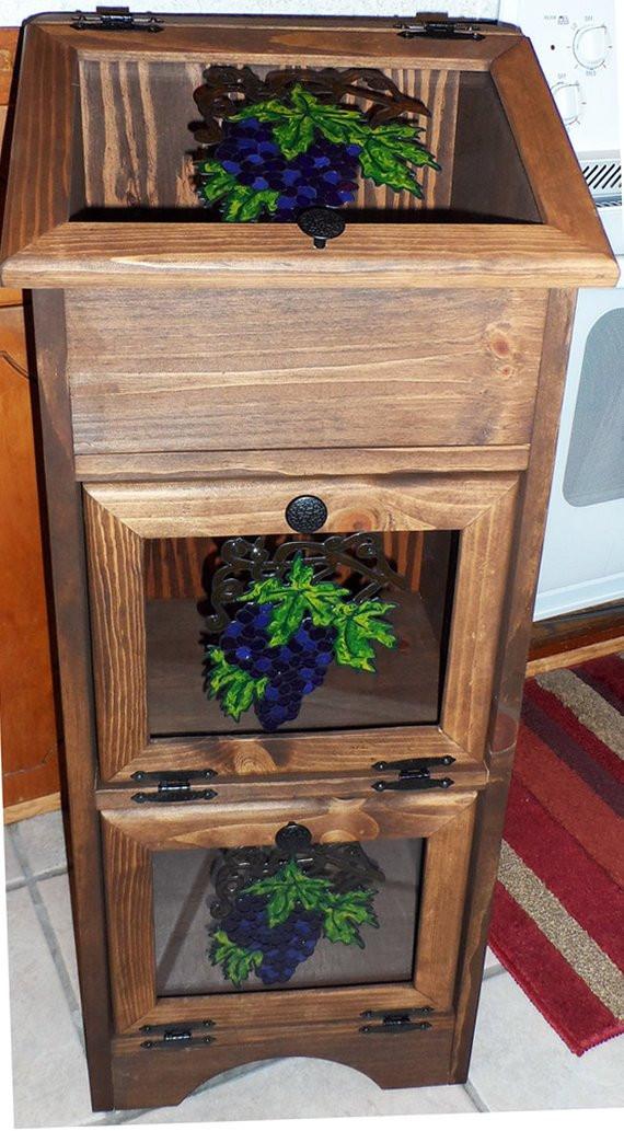 Potato Storage Bin  Potato Storage Bin Grapes